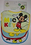 Mickey Mouse 3-pack Baby Bib