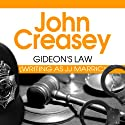 Gideon's Law: Gideon of Scotland Yard, Book 23 Audiobook by John Creasey Narrated by Barnaby Edwards