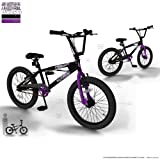 "SilverFox Limitless BMX 20"" Bike - Purple and Black - Unisex (New 2013 Summer Range).by SilverFox"