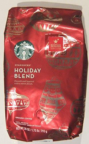 Starbucks Holiday Blend, Medium Roast Ground Coffee (1.75 lbs) (Starbucks Ground Coffee Roast compare prices)
