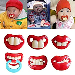 Cute Orthodontic Style Baby Soother Pacifiers Dummy Teether Pacy NUK Nipples Lip