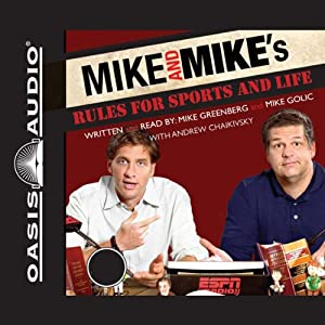 Mike and Mike's Rules for Sports and Life Audiobook