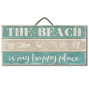 51NtnKPjUNL._SS300_ 100+ Wooden Beach Signs & Wooden Coastal Signs