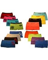 4er Pack Jungen Kinder UOMO Boxershorts TOP QUALITÄT viele FARBEN und MODELLE. Microfaser Unterhosen Shorts