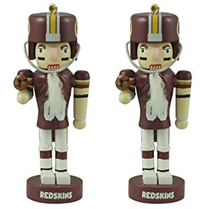 Washington Redskins Mini Nutcracker Ornament