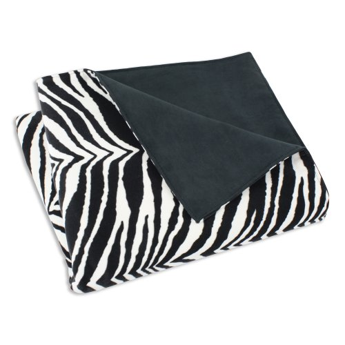 Chooty Zebra Super Soft Blanket, 26 by 40-Inch,