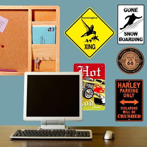 Hummingbird Xing caution Crossing Sign wildlife Gift банка для сыпучих продуктов с деревянной крышкой кофе апельсины 1114069
