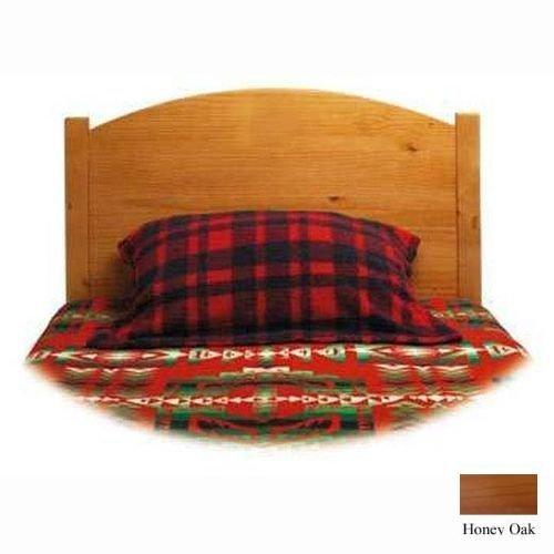 Little Colorado Little Colorado Traditional Twin Headboard - No Cutout, Honey Oak, Wood, Twin front-949861