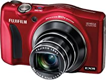 Fujifilm FinePix F850EXR 16MP Digital Camera with 3-Inch LCD (Red)