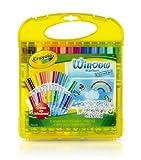 Crayola Window Marker and Stencil Set, 25-Crayons