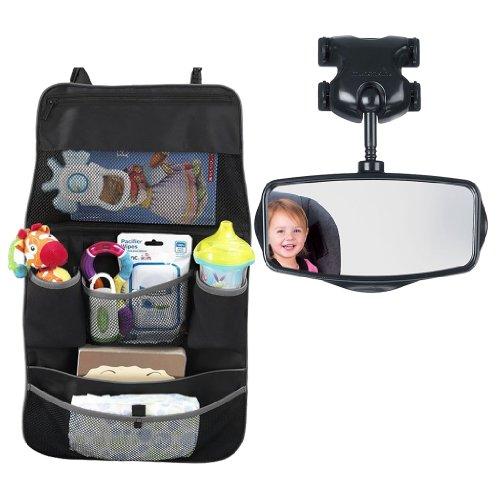 Munchkin Backseat Organizer With Safe View Child Mirror