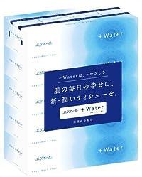 エリエール +Water プラスウォーター 180W 5箱パック