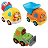 VTech Baby Toot Toot Drivers Contruction Cars - 3 Pack