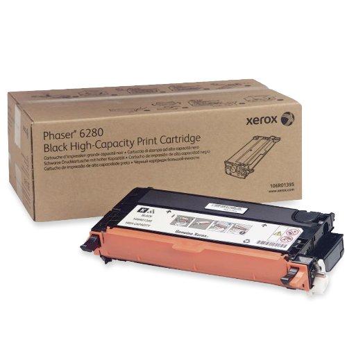 Xerox 106R01395 Phaser 6280 Tonerkartusche hohe Kapazität 7.000 Seiten, schwarz