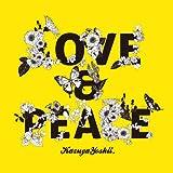 LOVE & PEACE♪吉井和哉のジャケット
