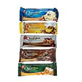 Quest Bundle: Sweet Lovers 5 Flavor Sampler Set - Vanilla Almond Crunch, Chocolate Chip Cookie Dough, Chocolate Brownie, Chocolate Peanut Butter, and Peanut Butter Supreme