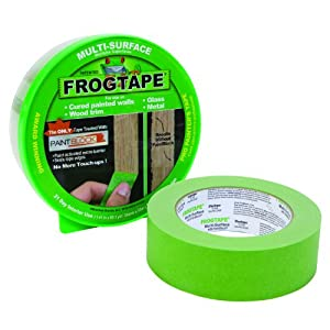 FrogTape 1358463 Multi-Surface Painting Tape, Green, 0.94-Inch Wide by 60 Yards Long