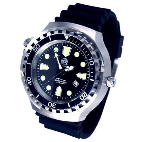 [トーチマイスター1937]Tauchmeister1937 腕時計 ドイツ製重厚1000M防水ドイツ戦艦軍用自動巻ダイビングT0253 (並行輸入品)