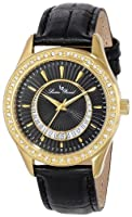 Lucien Piccard Women's LP-12721-YG-01 Staz Analog Display Quartz Black Watch by Lucien Piccard