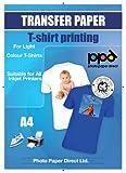 PPD Inkjet Transferpapier zum aufbügeln auf helle T-Shirts