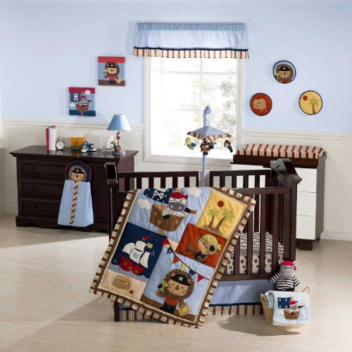 Trend Check Kids Line Piece Crib Bedding Set Pirate Party Now