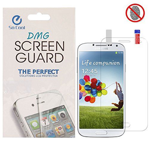 DMG SoCool Screen Protector for Samsung Galaxy S4 I9500 (Matte Anti Glare Anti FingerPrint Scratch Guard)  available at amazon for Rs.99