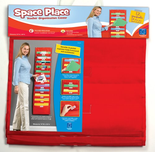 Educational Insights Space Place Pocket Chart front-61294