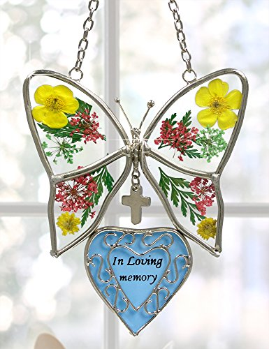 In-Loving-Memory-Butterfly-Stained-Glass-with-Flowers-Suncatcher