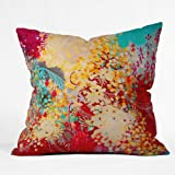 DENY Designs Stephanie Corfee Young Bohemian Throw Pillow, 16-Inch by 16-Inch