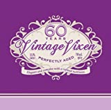 Creative Converting 16 Count Vintage Vixen 60th Birthday Lunch Napkins