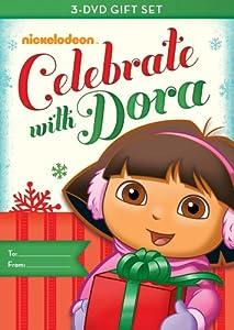 Dora The Explorer Dora Celebrates Three-pack Doras Christmas Doras Halloween Doras Big Birthday Adventure by Nickelodeon