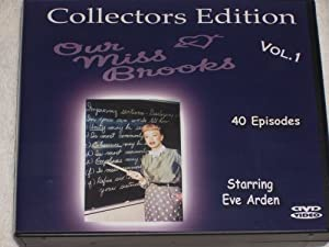 Our Miss Brooks-10 Dvd Boxed Set-40 Episodes W/ Interactive Dvd Motion Menus