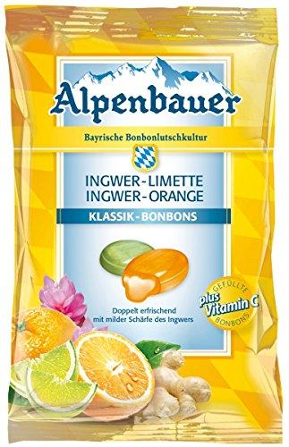 Alpenbauer-Ingwer-Limette-Ingwer-Orange-Bonbons