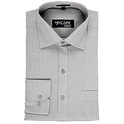Magson Elite Men's Formal Shirt 1968096031_Grey_44