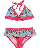 Pink Platinum Girls 2-6X Strawberry 2 Piece, Turquoise, 4T