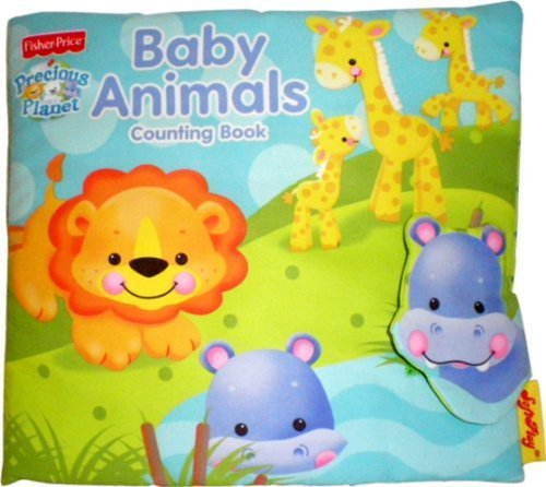 SoftPlay Fisher-Price Precious Planet Counting Book, Baby Animals Children, Kids, Game - 1
