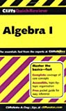 Cliffsquickreview Algebra I (076456370X) by Bobrow, Jerry