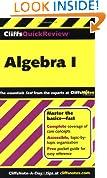 CliffsQuickReview Algebra I (Bk. 1)