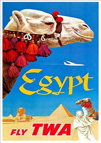 twa-egypt-wonderful-a4-glossy-art-print-taken-from-a-rare-vintage-travel-poster