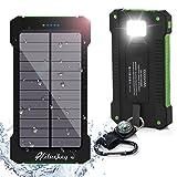 Solar Ladegerät 10000mAh Hiluckey Power Bank Tragbar Dual...