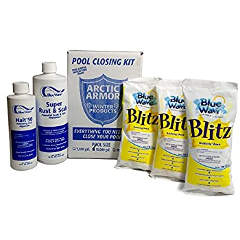 Blue Wave Large Chlorine Free Pool Winterizing Kit
