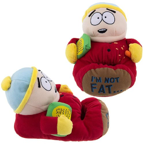 Cheap South Park Cartman Slippers for Men (B009U08UEY)