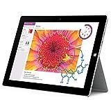 【歴代最薄・最軽量】 マイクロソフト サーフェス 3 タブレット / Microsoft Surface 3 Tablet  ★Windows 8.1 搭載★  [米国正規品]  (128GBストレージ、メモリ4GB)