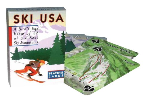 Ski Usa Poker Deck
