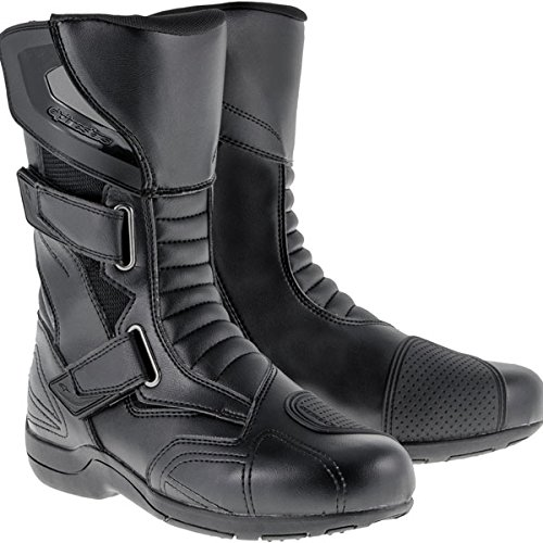 Alpinestars Roam 2 Waterproof Men's Street Motorcycle Boots (Black, EU Size 44) (Street Motor Cycle Boots compare prices)