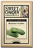 Marketmore Cucumber - Certified Organic Heirloom Seeds