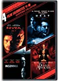 4 Film Favorites: Suspense Collection (Seven / Heat / Insomnia / The Devil's Advocate)