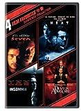 4 Film Favorites: Suspense (Devil's Advocate, Heat, Insomnia, Seven)