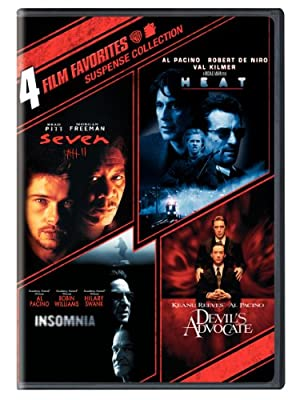 4 Film Favorites: Suspense (Devil's Advocate, Heat, Insomnia, Seven)