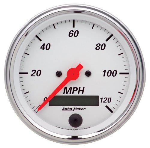 "Auto Meter 4492 3-3//8/"" Ultra-Lite Mechanical Speedometer 0-120 MPH"